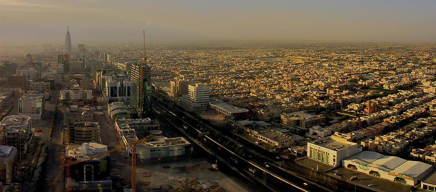 Sunrise View Of Riyadh Photograph by Ayman Aljammaz