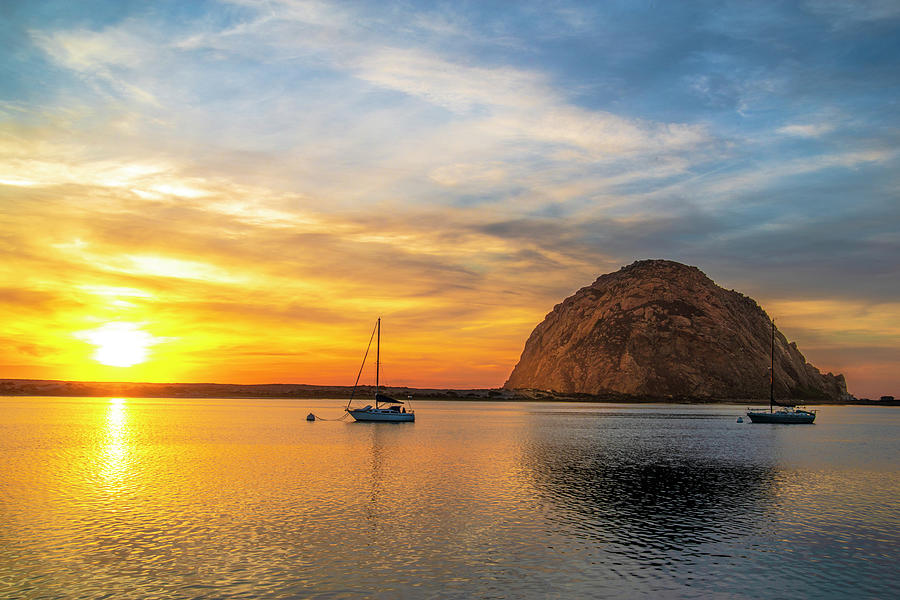 California Photograph - Sunset By The Bay by Fernando Margolles