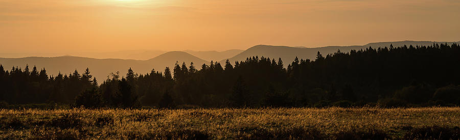 Sunset - 4 - Vosges mountains by Paul MAURICE