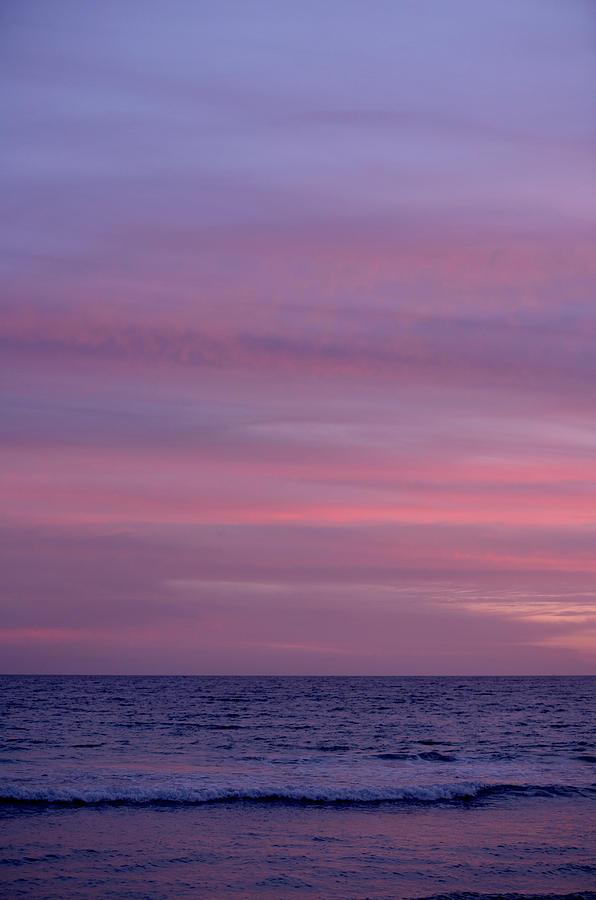 Sunset Above The Ocean, Tarifa Photograph by Arne Pastoor / Stock4b