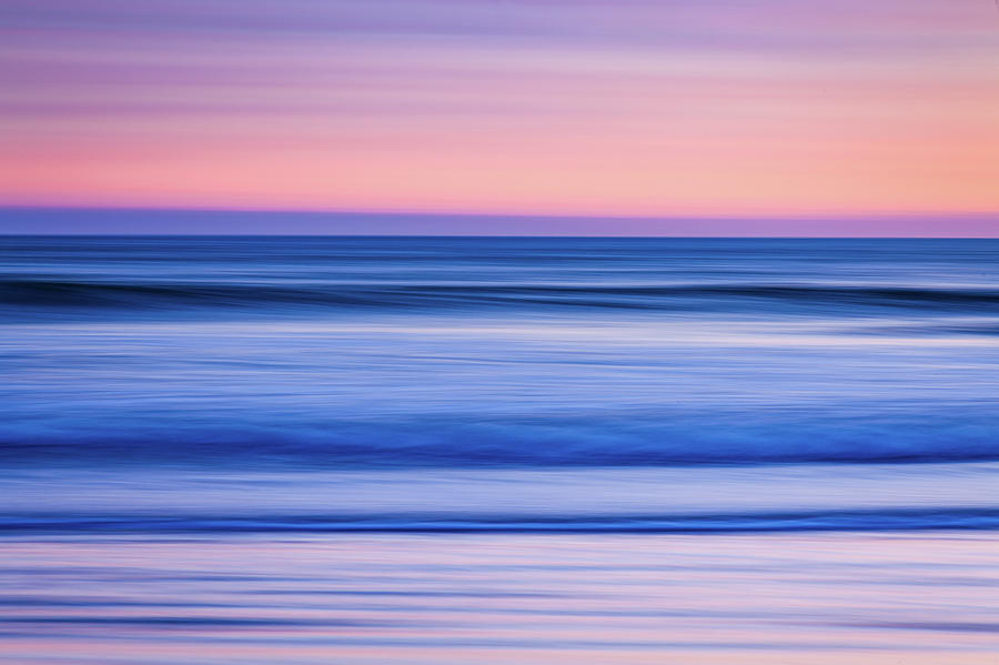 Sunset Abstract by Eric Full
