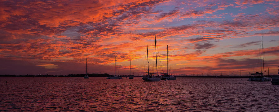 Sunset Across the Keys by Mark Duehmig