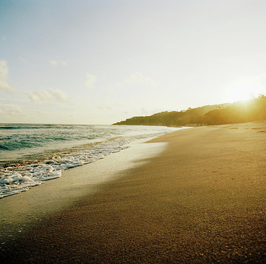 Sunset At A Beach Of Petit-goave, Haiti Photograph by Cultura Exclusive/philip Lee Harvey