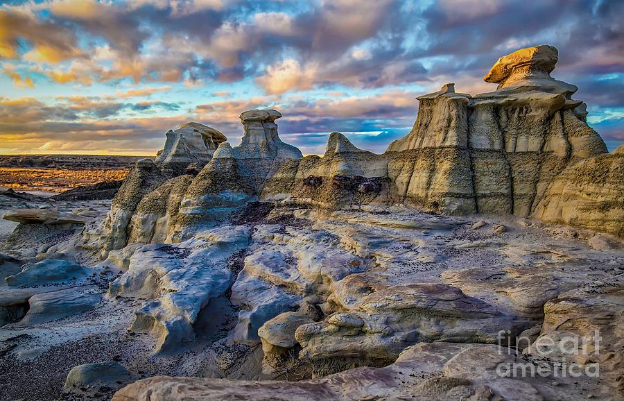 Sunset At Bisti by Jaime Miller