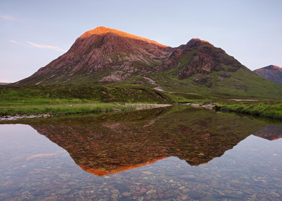 Sunset at Buachaille Etive Mor by Stephen Taylor