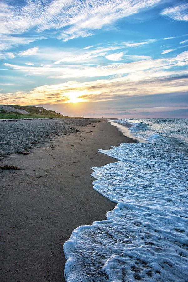 Cape Photograph - Sunset At Cape Cod National Seashore - Massachusetts by Brendan Reals