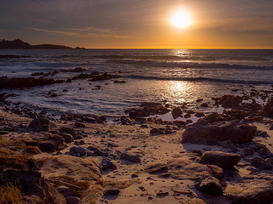 Sunset at Carmel Point by Derek Dean