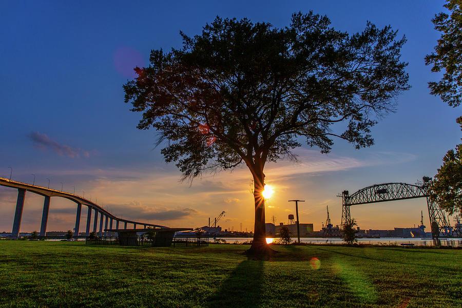 Sunset At Elizabeth River Park Photograph