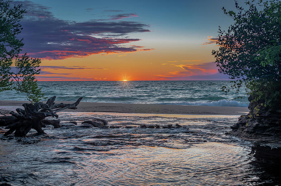 Sunset at Hurricane River by Gary McCormick