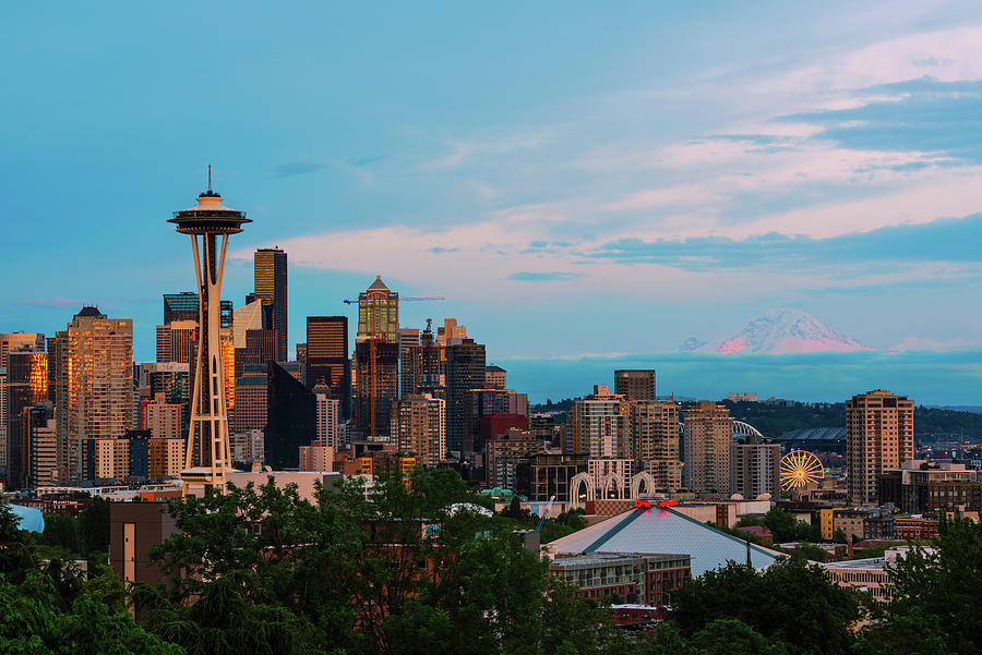 Sunset at Kerry Park by Michael Lee
