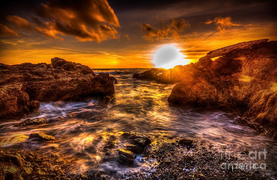 Sunset at Laguna Point by Paul Gillham