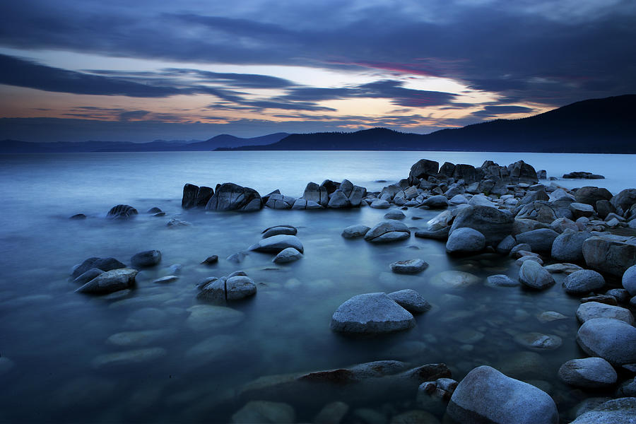 Sunset At Lake Tahoe, California Photograph by Ericfoltz