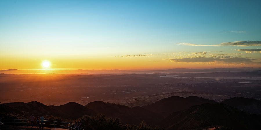 Sunset at Mt Diablo by Mike Gifford