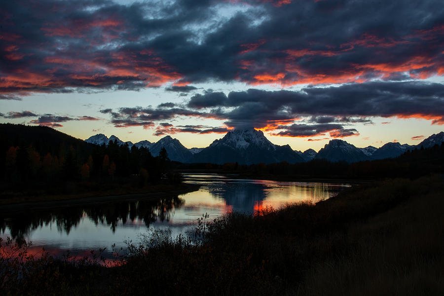 Sunset at Oxbow Bend by Scott Read