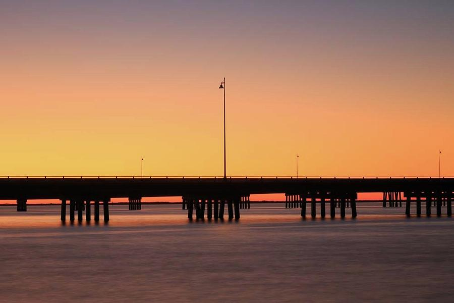 Sunset at Punta Gorda by Paul Schultz