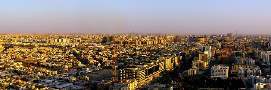 Sunset At Riyadh Photograph by Ayman Aljammaz
