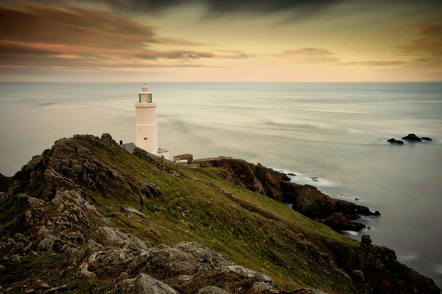 Sunset At Start Point, South Devon Photograph by Martyn Hasluck Photography