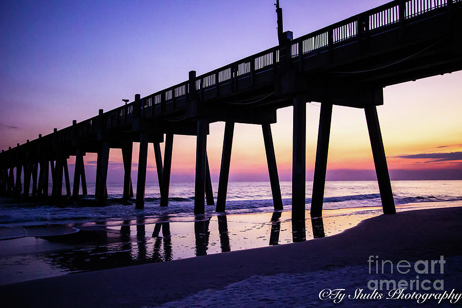 Sunset at the Pier by Ty Shults