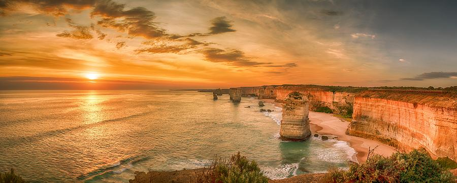 Sunset at The Twelve Apostles by Chris Cousins