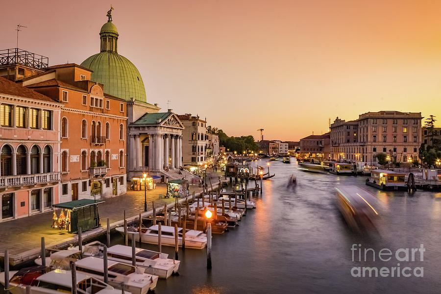 Sunset at Venice by Fine Art On Your Wall