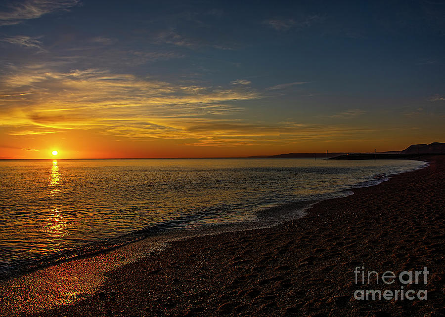 Sunset at West Bay 3 by Chris Thaxter