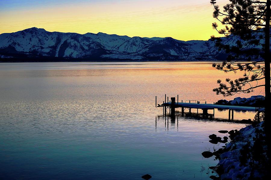 Sunset at Zephyr Cove by Robert Blandy Jr