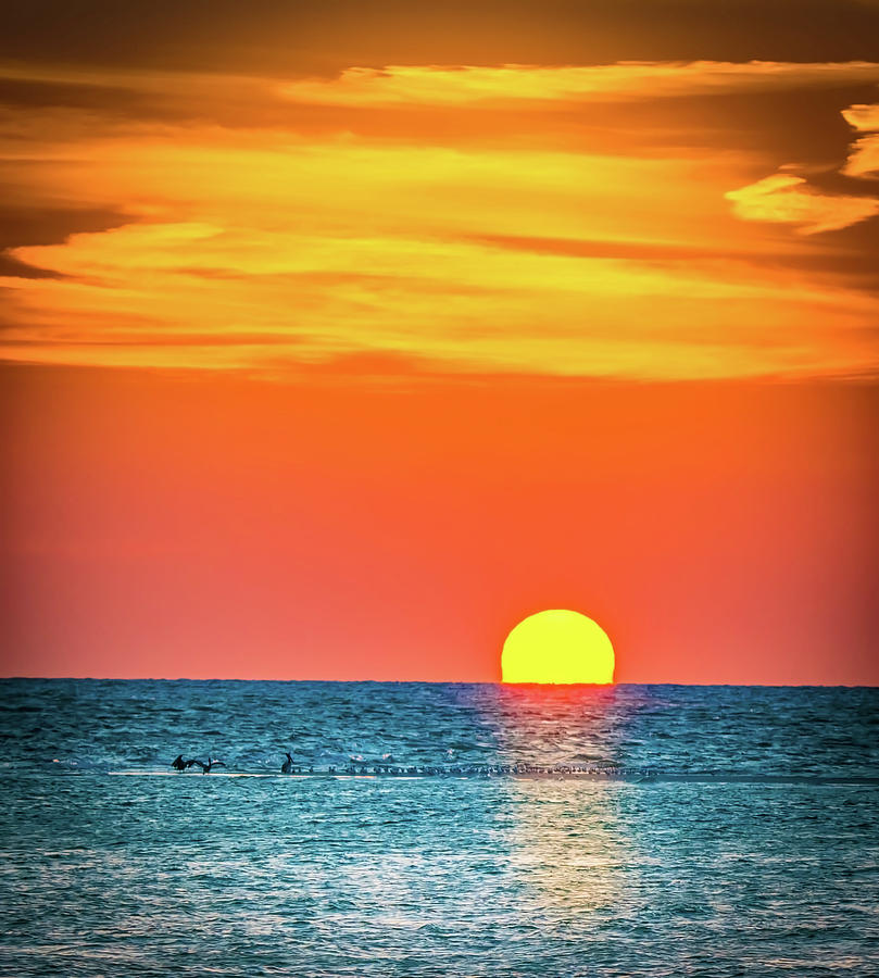 Sunset Captiva  by Francisco Gomez