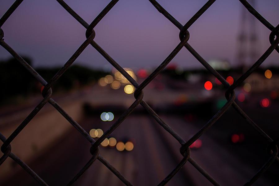 Sunset City Bokeh by Stephen Riella