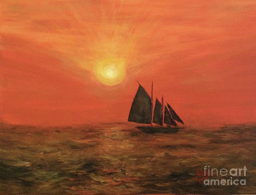 Sunset Cruise by Aicy Karbstein
