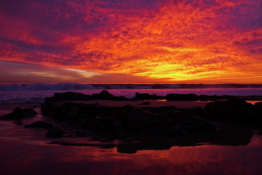Sunset Crystal Cove by Kyle Hanson