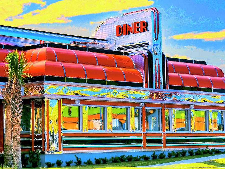 Sunset Diner by Dominic Piperata