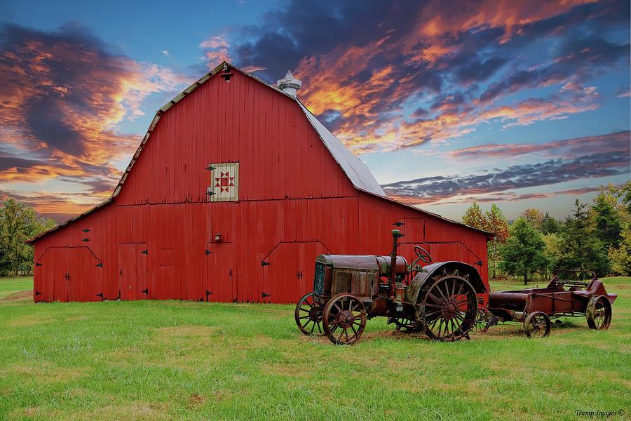 Sunset Farm by Wesley Nesbitt