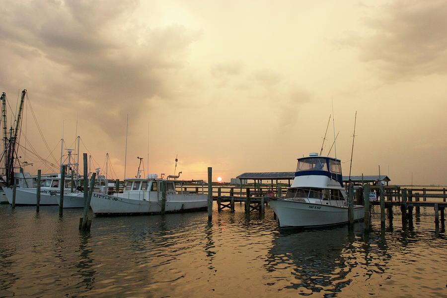 Sunset Fishing by Liza Beckerman