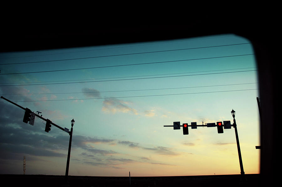 Sunset From Car Photograph by Photo By Alex Gaidouk