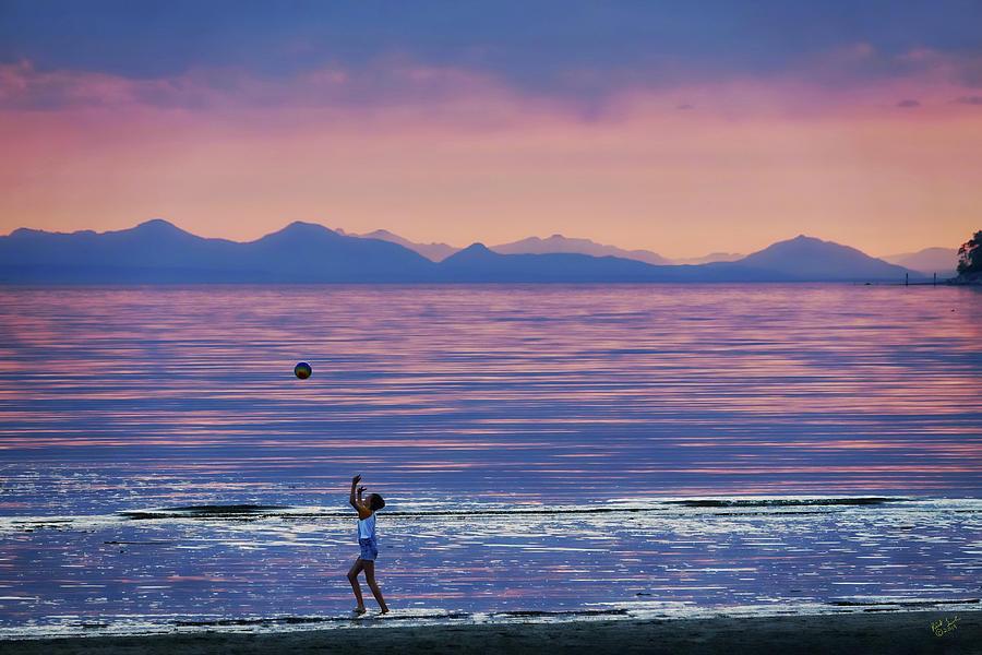 Sunset Fun by Rick Lawler