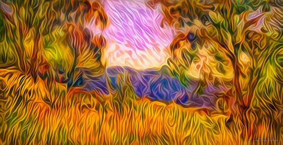 Sunset Harmony Light by Joel Bruce Wallach
