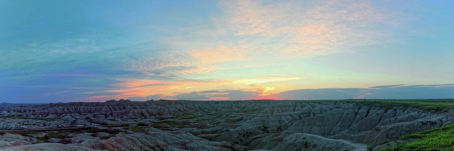 Sunset in Badlands National Park by Doolittle Photography and Art
