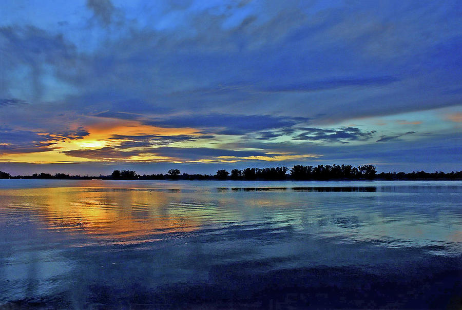 Sunset In Blue by HH Photography of Florida