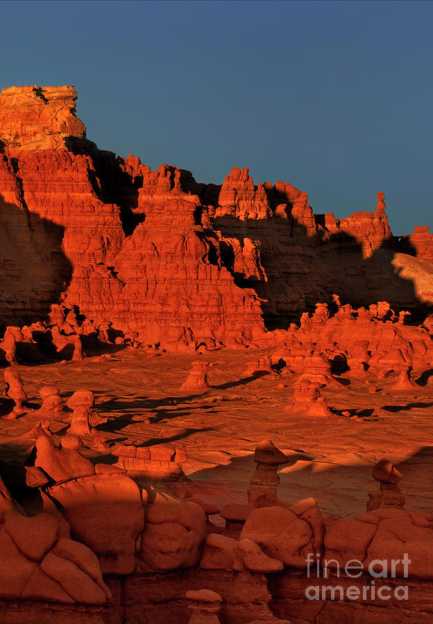 sunset in goblin valley utah by Dave Welling