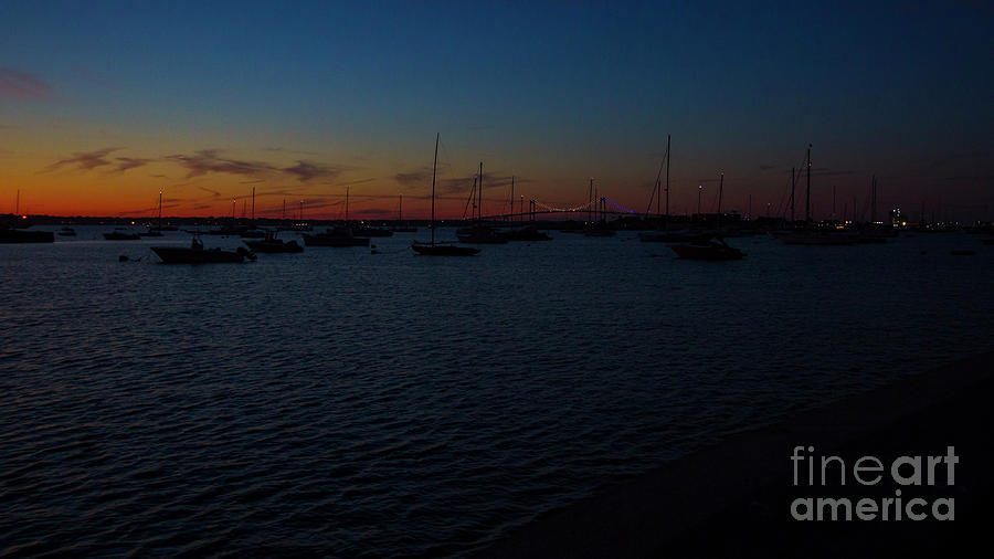 Sunset in Newport, RI by Agnes Caruso