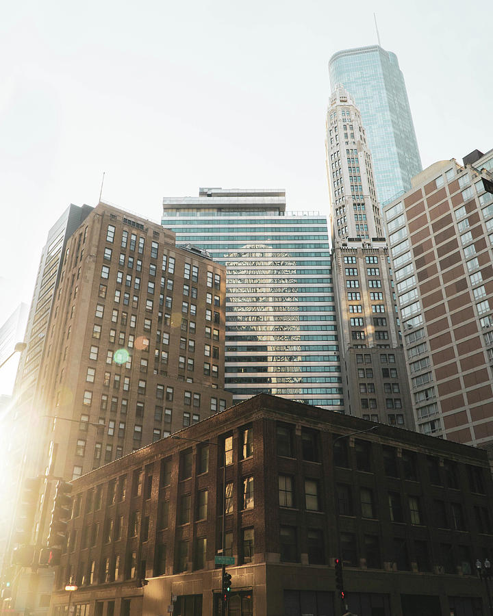 Sunset In The City Photograph