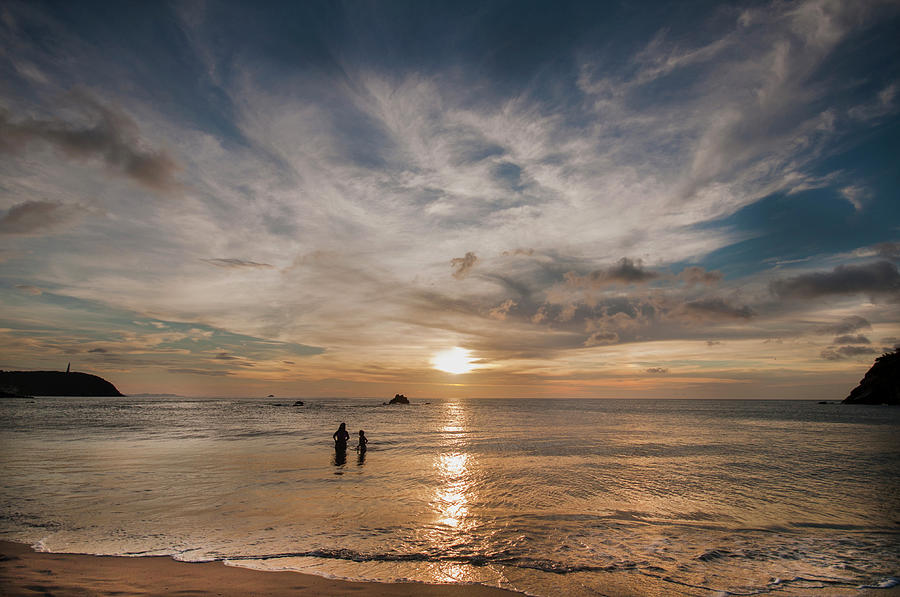 Sunset In The Venezuelan Caribbean Photograph by Elizabeth Fernandez