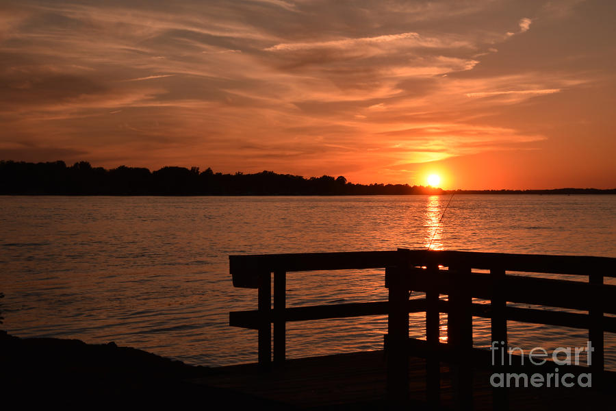 Sunset June 26, 2019 by Sheila Lee