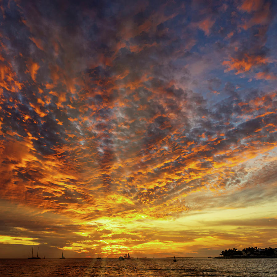 Sunset Key West DSC01688_16 by Greg Kluempers