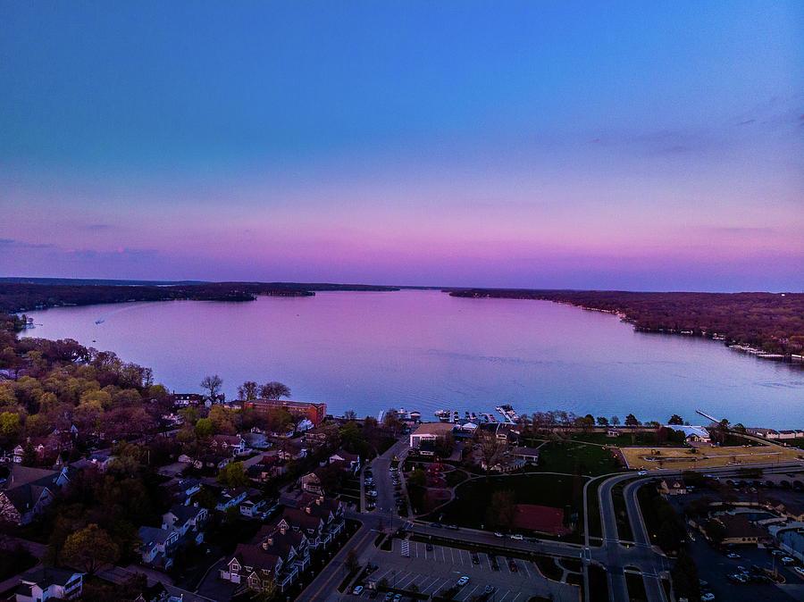 Sunset - Lake Geneva, WI by Bobby King