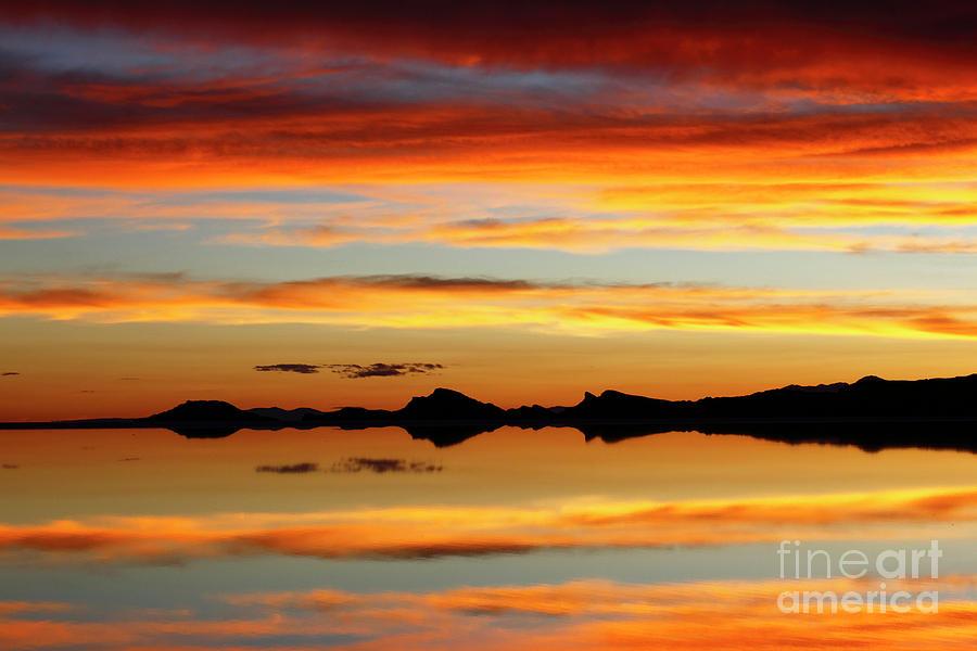 Sunset Magic Salar De Uyuni Bolivia