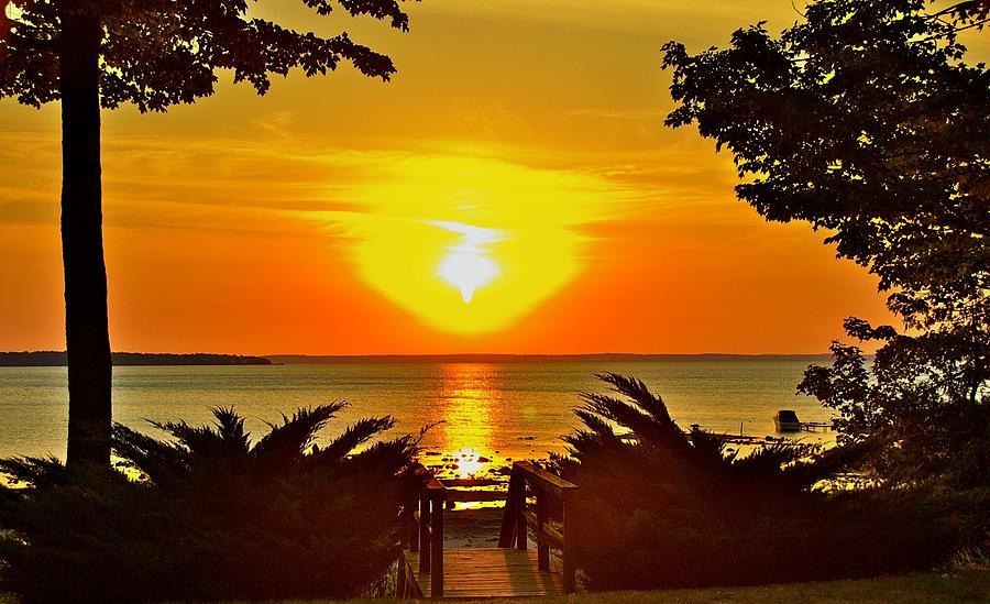 Sunset Photograph - Sunset by Marty Klar