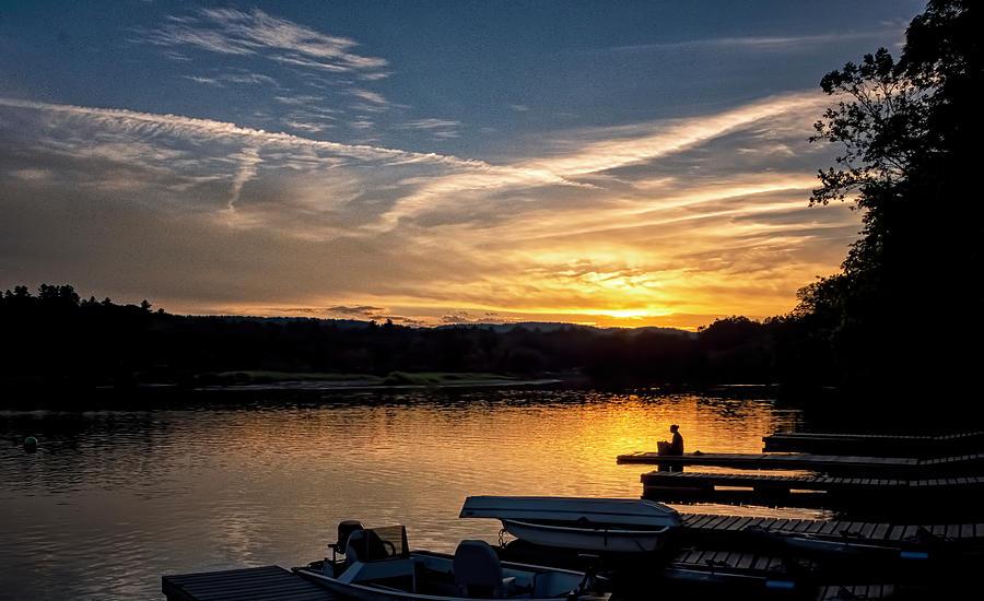 Sunset Meditation by Tom Singleton