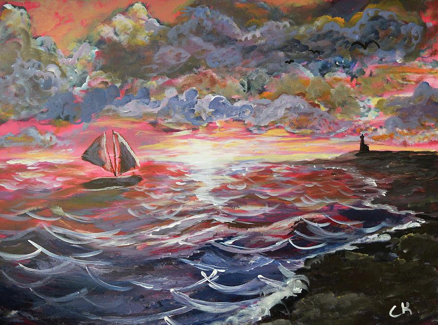 Sunset of the Sea by Chance Kafka