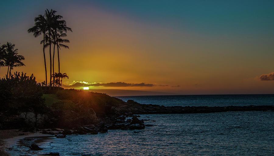 Sunset on Kapalua by Gaylon Yancy